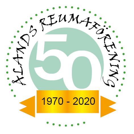 Reumaföreningens jubileumssymbol femtio år