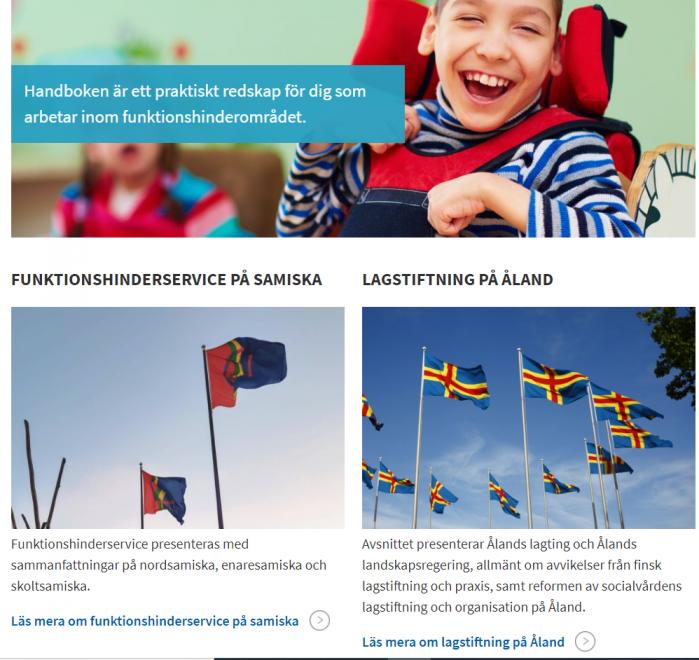 Ny handbok för Åland 16.10.2020 för dig som arbetar inom funktionshinderområdet